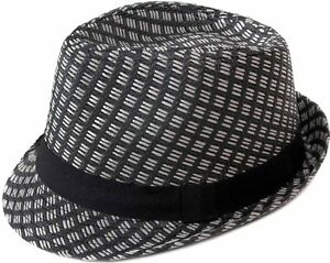 e08df0a6a6e8b Men Women Summer Beach Trilby Fedora Straw Panama Wide Brim Beach ...