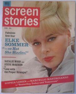 Screen-Stories-magazine1964-ELKE-SOMMER-Cover-Sue-Lyon-SOPHIA-LOREN-Jane-Fonda
