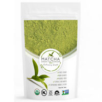 Matcha Usda Organic Green Tea Powder 16 Oz (1lb) Free 1-3 Day Shipping..