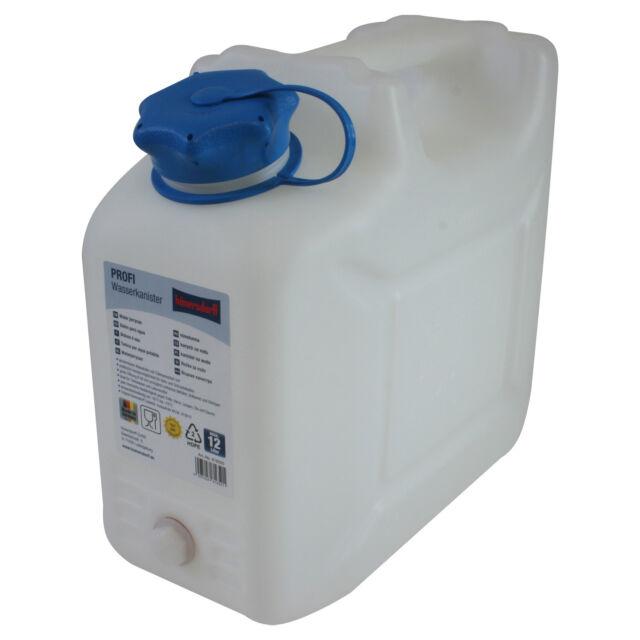 Wasserkanister 15 Liter mit Zapfhahn für Trinkwasser Neu!!