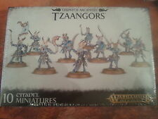 WARHAMMER AGE OF SIGMAR TZEENTCH ARCANITES TZAANGORS - NEW & SEALED