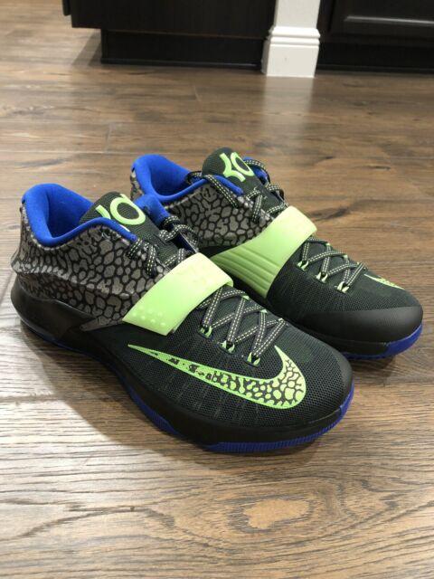 best service 3e743 5b89d Nike KD Kevin Durant VII 7 Electric Eel sz 12.5 653996-030