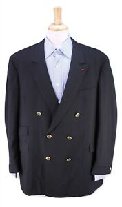 Custom-Tailored-by-George-Worn-by-JERRY-LEWIS-Black-Tuxedo-Blazer-Metal-Btns-46R