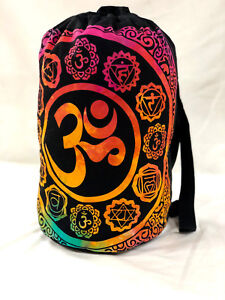 Tie Dye Mandala Backpack Bag Hippie Unisex Bag Ethnic Cotton Multipurpose Bag