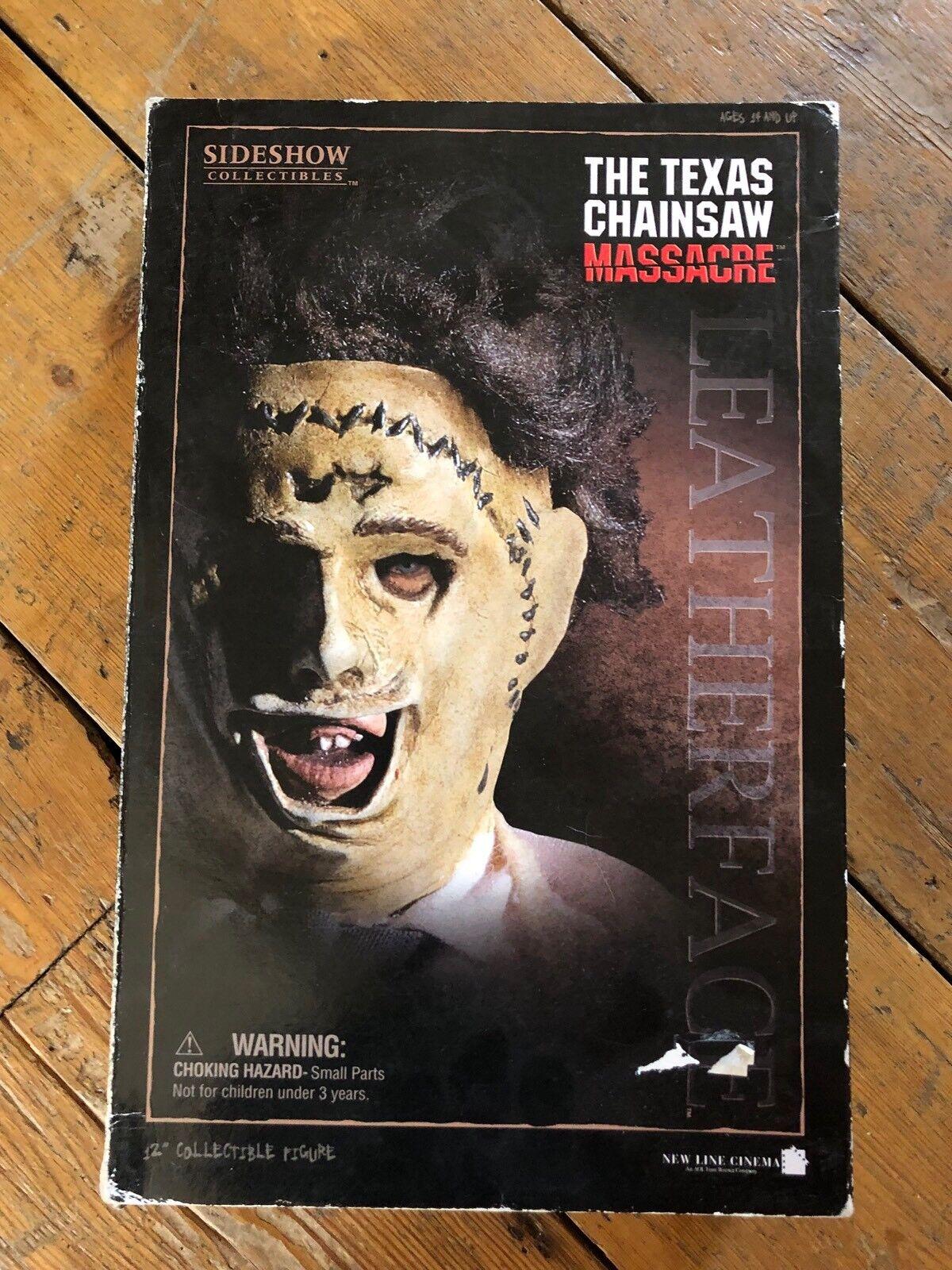 barato Sideshow Texas Texas Texas Chainsaw Massacre Leatherface Gunnar Hansen afssc 109  barato y de moda