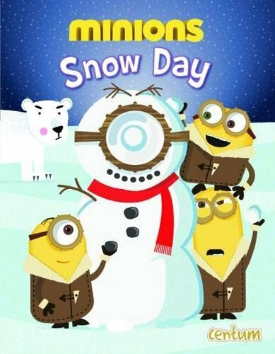 Minions Snow Day Picture Book By Centum Books