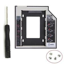 Universal 12.7mm ZQTA 2nd SSD HDD Hard Drive Caddy for DVD-ROM CD Optical Bay #K
