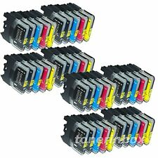 40 PK LC61 LC-61 Ink Combo for Brother MFC-490CW MFC-495CW MFC-J615W MFC-J630W