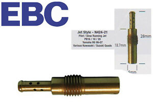 EBC Keihin RD N424-21 Slow Jets Pilot  Jet Size 38 Motorcycle Fuel Injectors & Main Jets