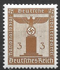 Nazi Germany Third Reich Mi# 156 Official Stamp 1942 MNH **