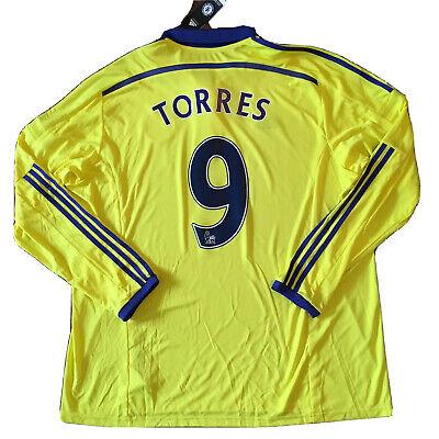 2014/15 Chelsea Away Jersey #9 Fernando Torres 3XL Adidas ...