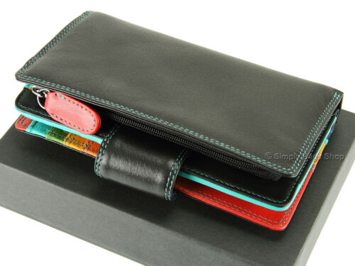 SP30 Visconti Ladies RFID Safe Luxury Leather Purse For Cards Banknotes Coins