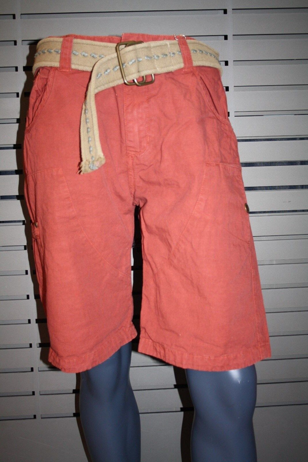 Alpha Industries Lancer Short 13120  44 vintage red kurze Hose Cargo neu