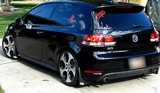 ROKBLOKZ Rally Mud Flaps for the 10-14 VW MKVI MK6 Golf, GTI, Volkswagen, SHORTZ