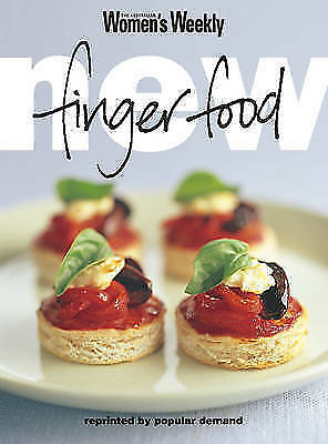 """""""AS NEW"""" The Australian Women's Weekly, New Finger Food (""""Australian Women's Wee"""