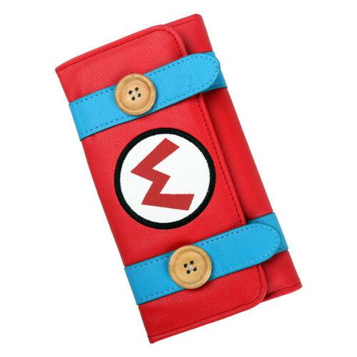 Hot Super Mario Bros Long Wallet Holder Credit Card Wallet Clutch Purse Handbag