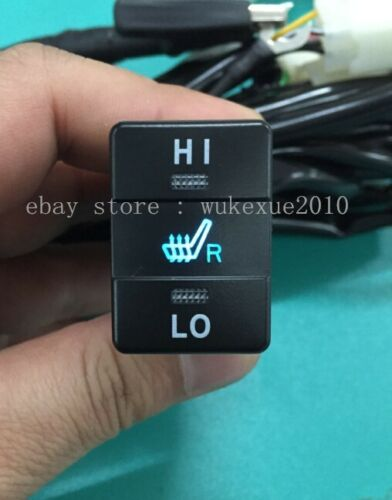 Car seat heater fit Toyota,Toyota switch heated seat,hi-off-lo switch.carbon pad