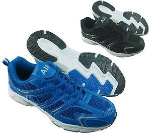 Hombre-Zapatillas-modernas-casual-con-cordones-gym-o-Correr-Caminar-Deportivas