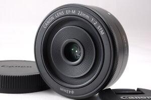 Canon-EF-M-22mm-f-2-STM-Lens-macro-0-15m-0-49ft-for-eos-m-m1-m2-m3-m5-m6-m10