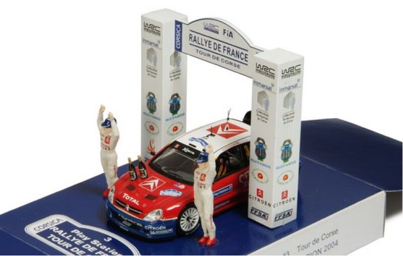 1 43 Citroen Xsara WRC  Tour de Corse 2004  S.Loeb  PODIUM EDITION
