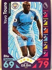 Match Attax 2016/17 Premier League - #171 Yaya Toure - Manchester City