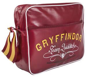 1f9040bd77d3 Image is loading Harry-Potter-Satchel-Kids-Gryffindor-Messenger-Shoulder-Bag -