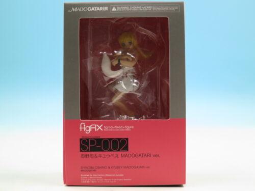 FROM JAPAN Max Factory figFIX SP-002 Shinobu Oshino /& Kyubey MADOGATARI ver