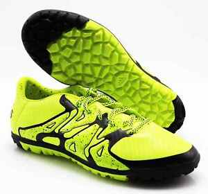 Details about Adidas Football Boots Multi Cam x 15.3 Tf B32972 Neon Yellow (3) Size 39 13