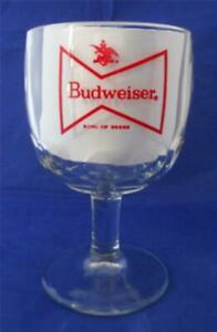 Vintage-Budweiser-King-of-Beers-Bowtie-Goblet-Stemmed-Glass-Thumbnail-Pattern
