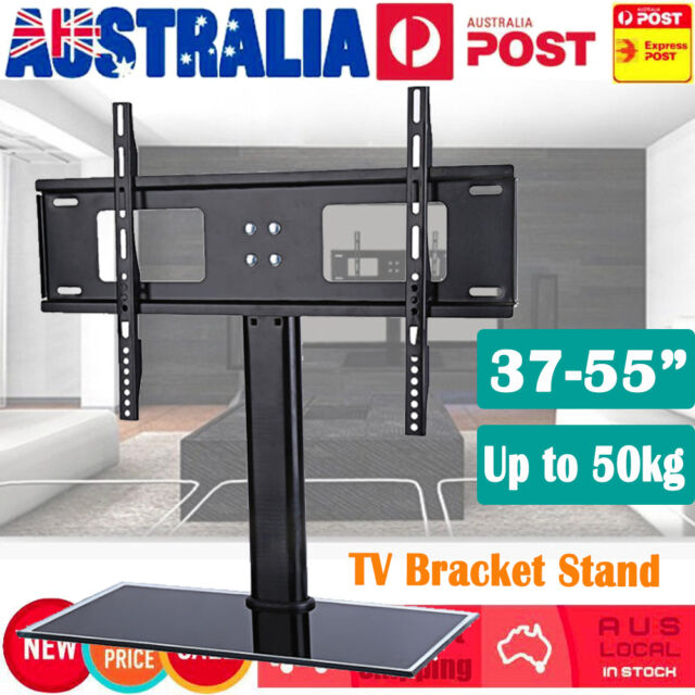 Universal TV Mount Bracket Desktop Stand Holder Base LCD Plasma LED TV 37-55'' e