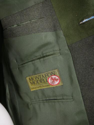 Loden Trachtenjacke 46 Janker Neuwertig Jacke Grün Montafon Leder Besatz In Gr gwvOd