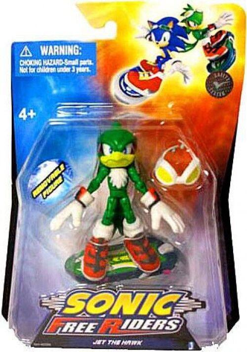 Hedgehog libre Riders Jet Sonic The The Hawk Figura De Acción