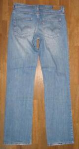 elastische-LEVI-S-524-BOOTCUT-JEANS-LEVIS-Blue-Jeans-hell-blau-ca-W31-034-L34-034