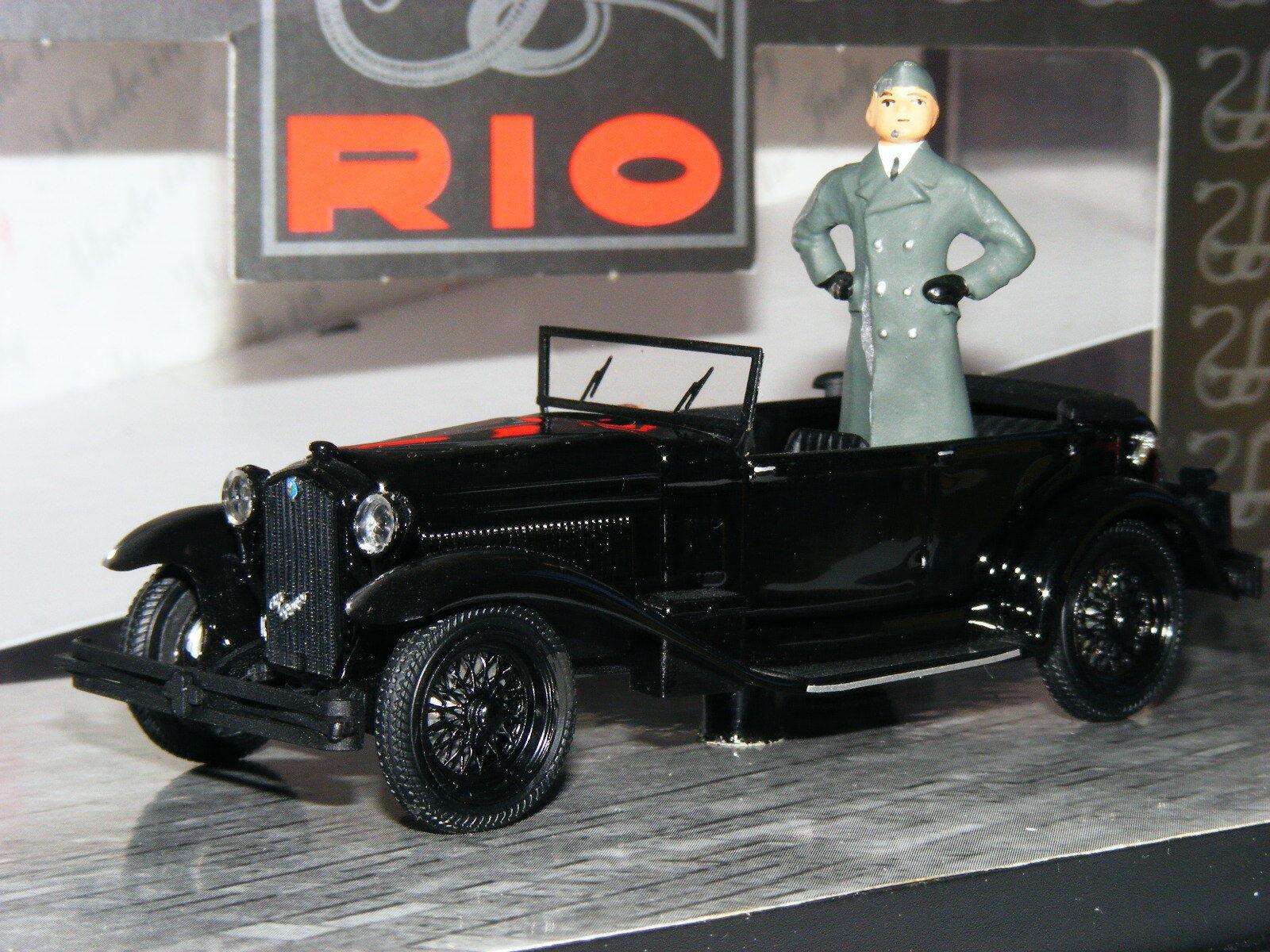 Rio 4225 D Alfa Romeo 1750 Torpedo Mussolini Milano 1944 1 43