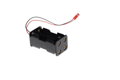 Receiver Battery Pack Case Box 4 x AA  Connector Battery Insert RC ModelSHKKV