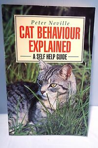 Cat-Behaviour-Explained-Book-Paperback-A-self-help-Guide-Peter-Neville-172-pages