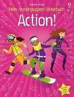Mein Anziehpuppen-Stickerbuch: Action! von Fiona Watt (2016, Taschenbuch)