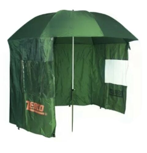 fishing umbrella with sides. Zebco
