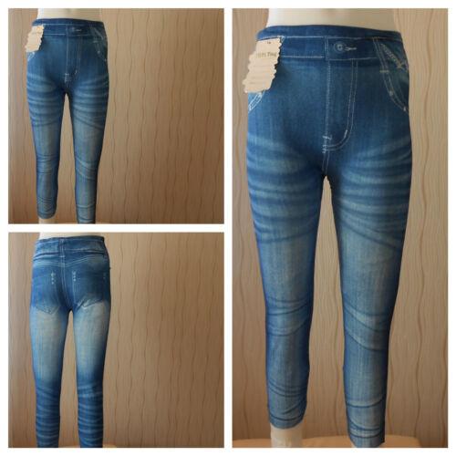 Leggings Jeans Optik.Treggings Freizeithose-Hose,Gr.,92,98,110,122,134