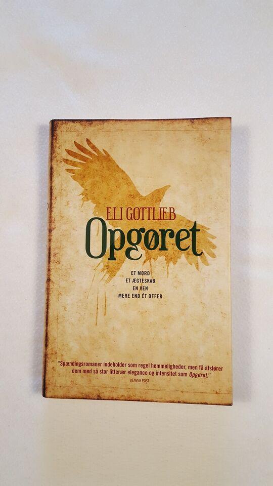 OPGØRET, ELI GOTTLIEB, genre: roman