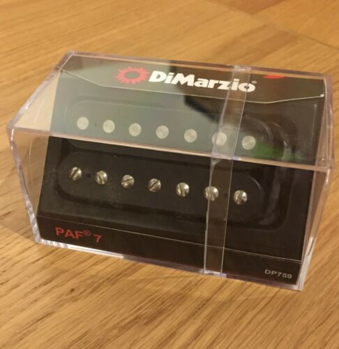 DiMarzio PAF 7 Pickup in Black  DP759 7 String