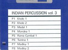 Floppy SOUND DISK for ROLAND W-30 Indian Perc. 3