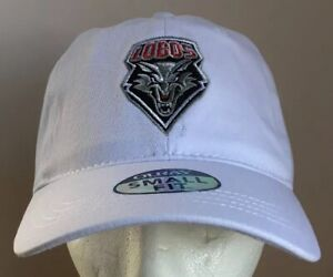 New-Mexico-Lobos-Adjustable-Cap-Hat-Ouray-Small-Fit-NCAA-NEW-NWT