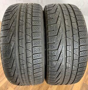 2x-Pirelli-245-35-r20-91-V-5-mm-Pneus-Sottozero-w240-n0-Pneus-Hiver-dot3112-2