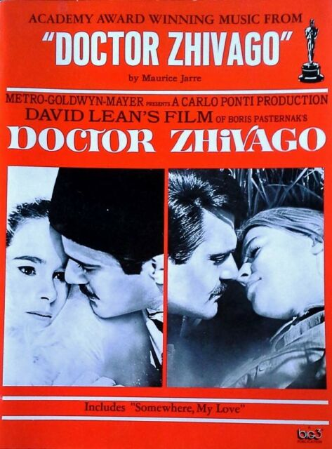 DR. ZHIVAGO - ACADEMY AWARD WINNING MUSIC FROM - 41 PAGE SONGBOOK - 1996