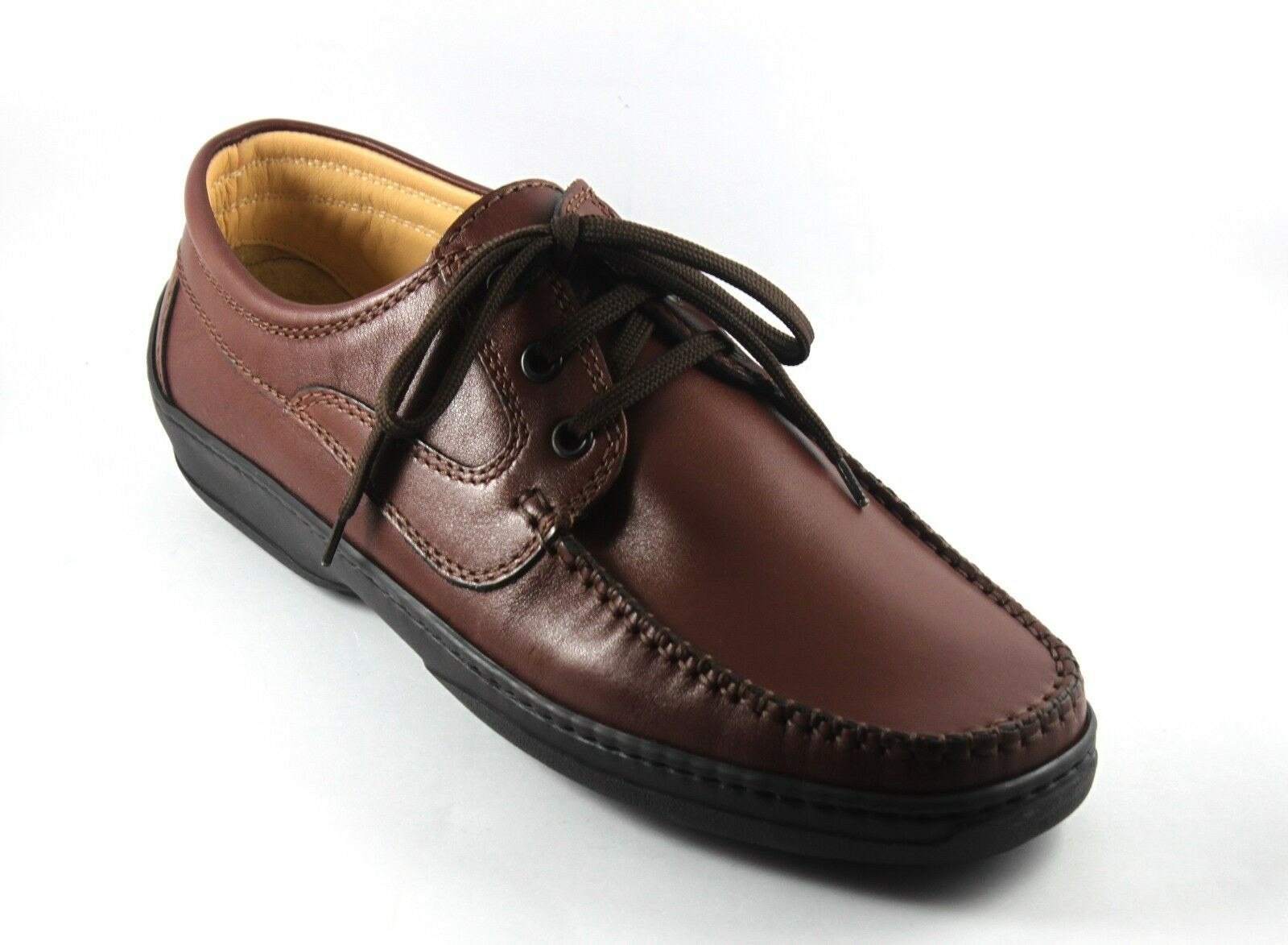 U11009 MELLUSO WALK shoes men ALLACCIATE PELLE brown  MODA COMODA n. 43
