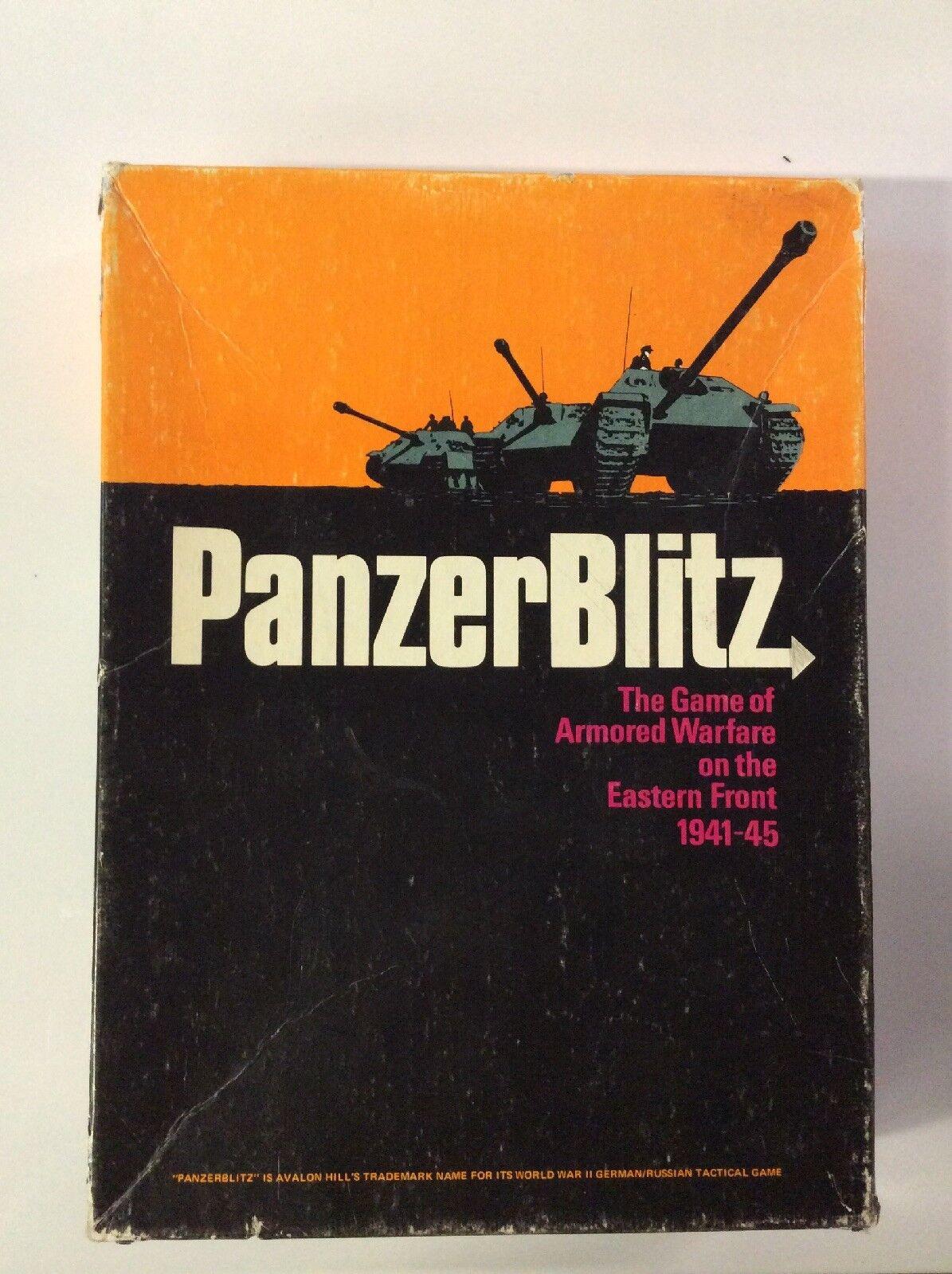 Panzerblitz Vintage Librero Juego el juego de la guerra blindado