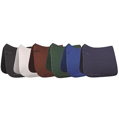 Hkm Piccoli Quilt Quick Dry Morbida Imbottita Equitazione Jumping Dressage Sella Panno-