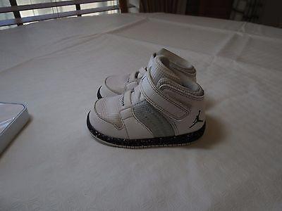 Nike Baby Air Jordan 6C white 828244 infant flight basketball RARE sneakers