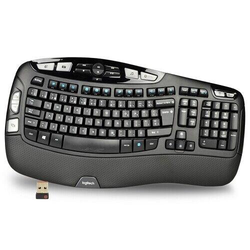 New Logitech K350 2.4GHz Wireless Multimedia Keyboard with Receiver - Warranty !. Buy it now for 34.99